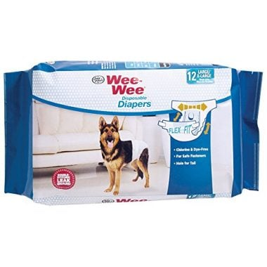 Wee-wee Products Disposable Dog Diapers by Four Paws