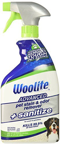 Woolite Advanced Pet Stain & Odor Remover by Bissell