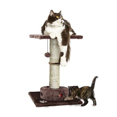 Tiger Tough Scratching Post, Cat Furniture, or Cat Hammock Scratcher for Cats and Kittens by Furhaven Pet