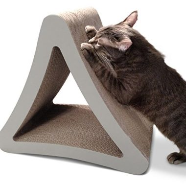 3-Sided Vertical Cat Scratcher and Post by PetFusion