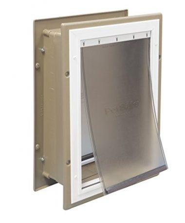 PlexiDor Wall Mount PDE Electronic Pet Door by PlexiDor Performance Pet Doors