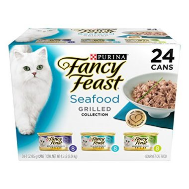 Fancy Feast Grilled Seafood Collection Wet Cat Food Variety Pack by Purina