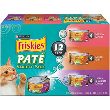 Friskies Classic Pate Variety Pack Cat Food by Purina