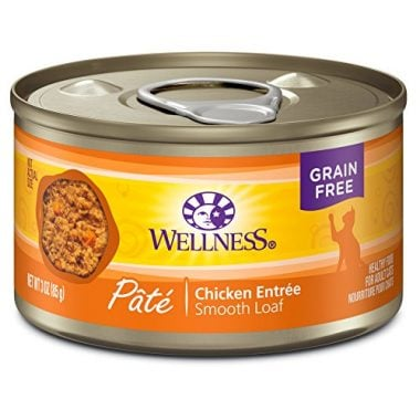 Complete Health Natural Grain Free Wet Canned Cat Food Pate Recipe by Wellness Natural