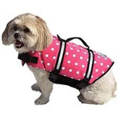 Double Designer Doggy Life Jacket by Paws Aboard