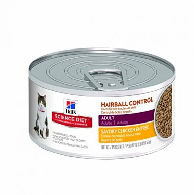 Hairball Control Minced Premium Cat Food by Hill's Science Diet
