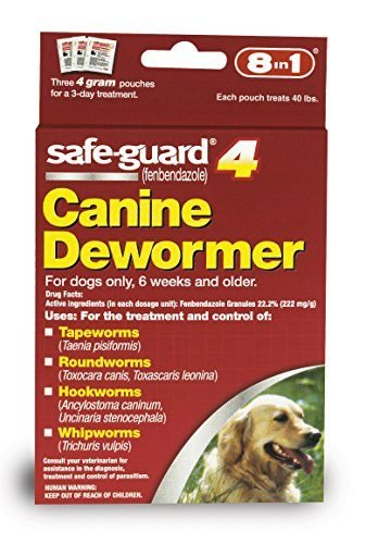 Safe-Guard Canine Dewormer for Dogs by 8-in-1 Pet Products