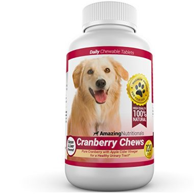 Cranberry Chews for Dogs by Amazing Nutritionals