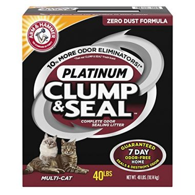 Multi-Cat Platinum Clump & Seal Clumping Litter by Arm & Hammer