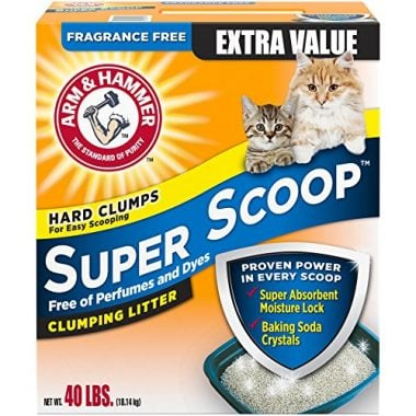 Super Scoop Clumping Litter by Arm & Hammer