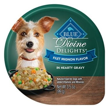 Blue Divine Delights Small Breed Wet Dog Food Cups