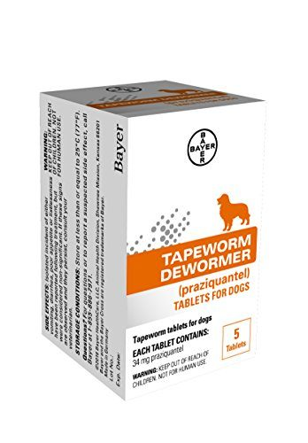 Tapeworm Dewormer by Bayer Animal Health