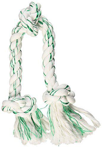 Booda Fresh N Floss 3 Knot Tug Rope Dog Toy