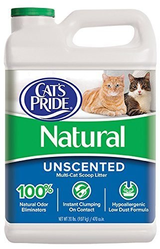 Natural Scoopable Cat Litter by Cat's Pride