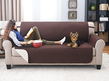 Deluxe Reversible Sofa Furniture Protector by Elaine Karen