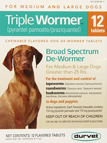 Triple Wormer Broad Spectrum Dewormer by Durvet