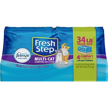 Multi-Cat Clumping Cat Litter with Febreeze Freshness by Fresh Step