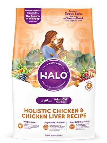 Spot's Stew Natural Dry Cat Food by Halo