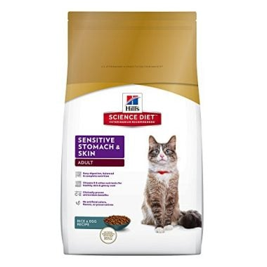 Sensitive Stomach and Skin Dry Cat Food by Hill's Science Diet