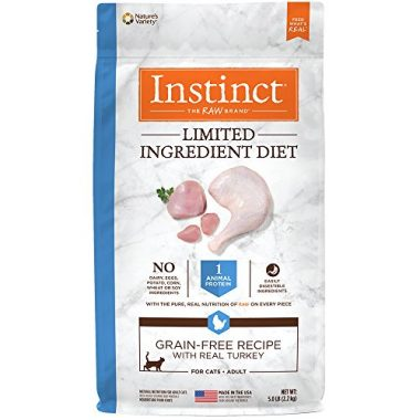 Instinct Limited Ingredient Diet Grain Free Recipe Natural Dry Cat Food by Nature's Variety