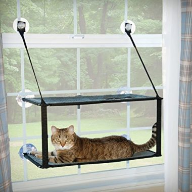 K&H Pet Products EZ Window Mount Kitty Sill – Double Stack