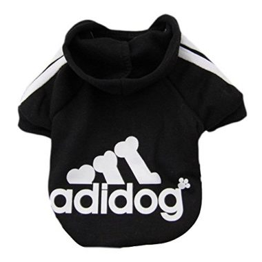Adidog Pet Dog Hooded Clothes by Moolecole