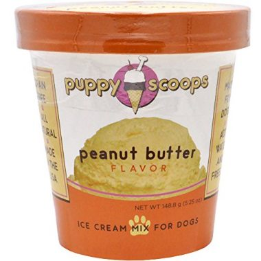 Puppy Scoops Ice Cream Mix for Dogs: Peanut Butter Flavor