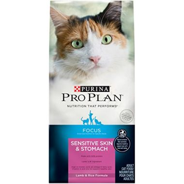 Pro Plan Focus Sensitive Skin and Stomach Adult Cat Food by Purina