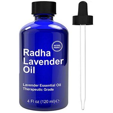 Radha Beauty Lavender Essential Oil Therapeutic Grade – 4