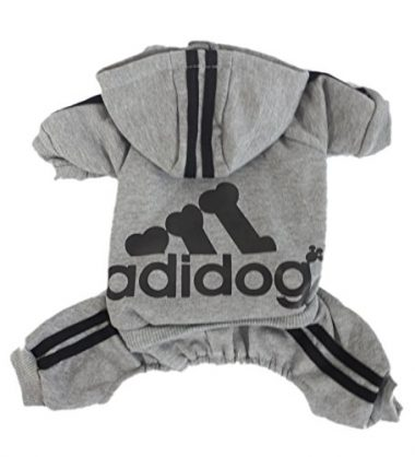 Adidog Pet Clothes for Dogs by Scheppend