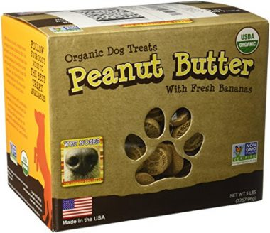 All Natural Organic Dog Treats Peanut Butter