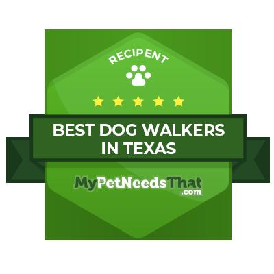 dog walker texas