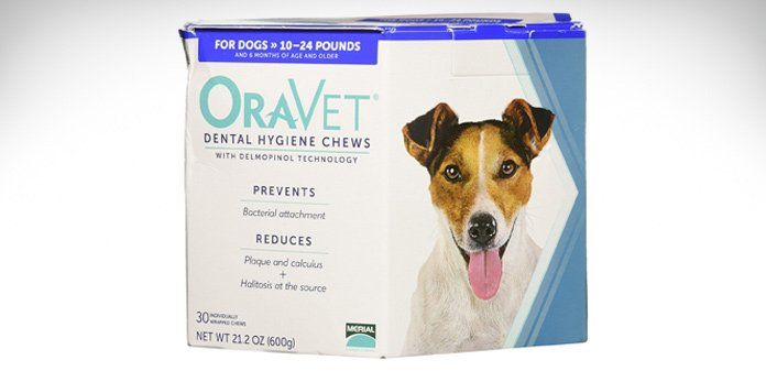 merial oravet dental hygiene chew for dogs