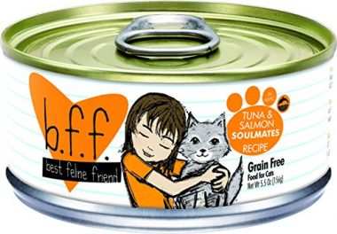 Weruva Best Feline Friend (B.F.F.) Grain-Free Wet Cat Food Cans and Pouches