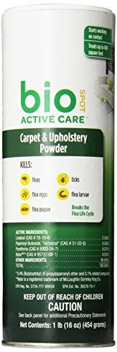 Active Care Flea & Tick Carpet & Upholstery Powder by Bio Spot