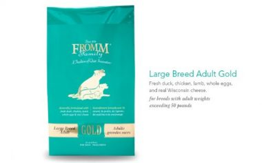 Gold Nutritionals Dog Food by Fromm Family