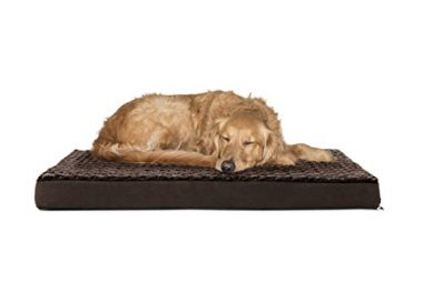 Deluxe Orthopedic Pet Bed Mattress for Dogs and Cats by Furhaven Pet