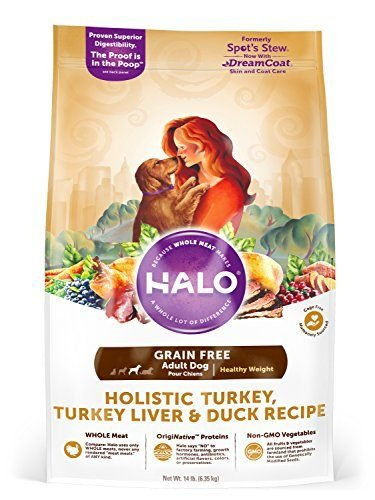 Spot's Stew Healthy Weight Grain Free Holistic Turkey, Turkey Liver, & Duck Recipe for Dogs