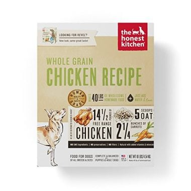 Honest Kitchen The Whole Grain Chicken Dog Food Recipe