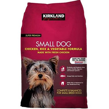 Super Premium Small Dog Chicken, Rice, and Vegetable Formula
