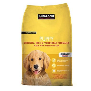 Super Premium Puppy Chicken, Rice, & Vegetable Formula