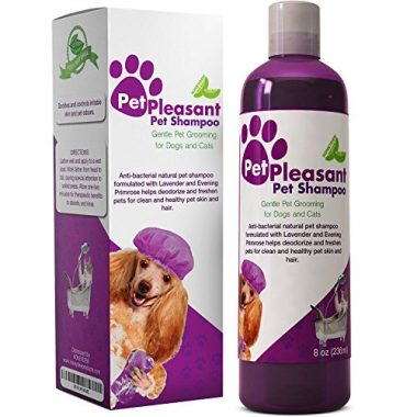 Natural Pet Shampoo By Pet Pleasant