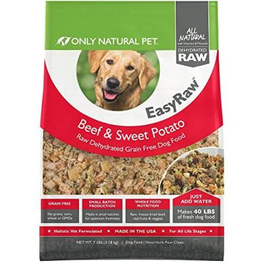Only Natural Pet Easy Raw Human Grade Dehydrated Raw Dog Food