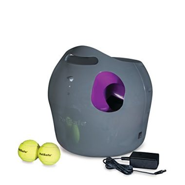 Automatic Ball Launcher Tennis Ball Throwing Machine for Dogs by PetSafe