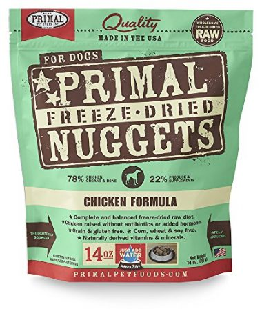 Primal Freeze Dried Pet Food