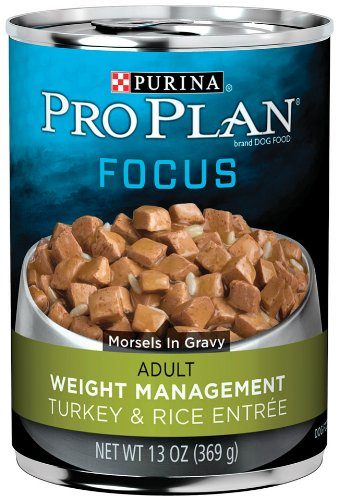 Pro Plan Focus Adult Weight Management Turkey & Rice Entrée Canned Dog Food