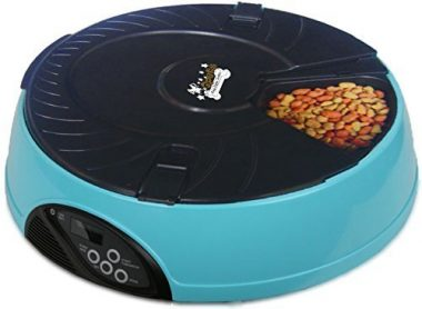 QPets Automatic Pet Feeder