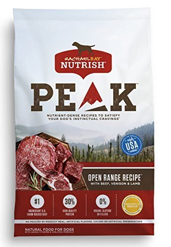 Nutrish PEAK Open Range Recipe with Beef, Venison, and Lamb