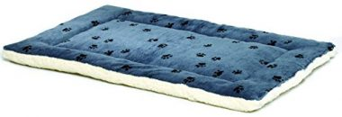 Quiet Time Reversible Paw Print Pet Bed by MidWest Homes for Pets