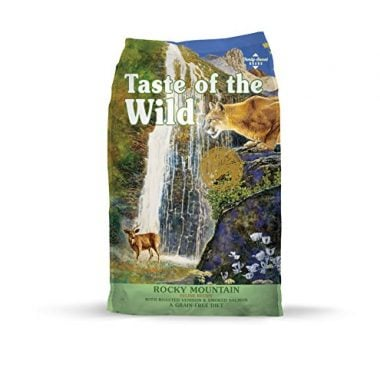 Taste of the Wild Rocky Mountain Grain Free High Protein Natural Dry Cat Food